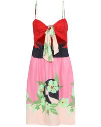 Adriana Degreas Beach Dress - Pink