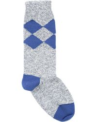 Burberry Short Socks - Blue