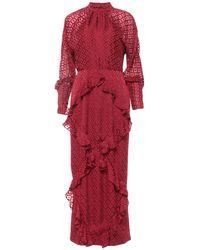 Saloni - Langes Kleid - Lyst