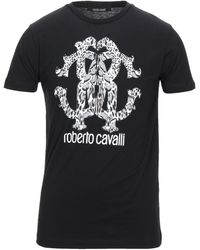 Roberto Cavalli Camiseta - Negro
