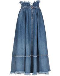 DIESEL Jupe en jean - Bleu