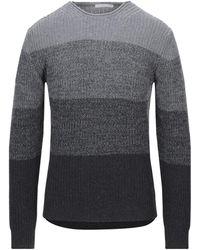 Grey Daniele Alessandrini Sweater - Gray