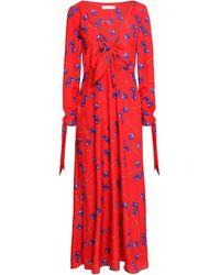 Borgo De Nor Long Dress - Red