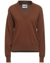 Just Female Pullover - Marrón