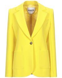 Essentiel Antwerp Suit Jacket - Yellow