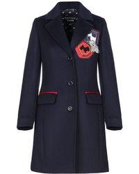 Boutique Moschino Coat - Blue