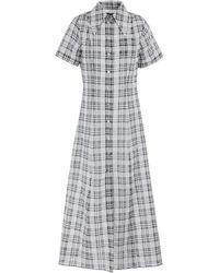 ALEXACHUNG Long Dress - Grey