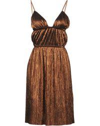Jijil Midi Dress - Brown