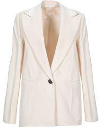 Helmut Lang Suit Jacket - White