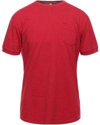 Sun 68 T-shirt - Red