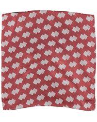 Armani Scarf - Red