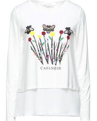 CafeNoir T-shirts - Weiß
