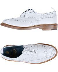 Tricker's Zapatos de cordones - Blanco