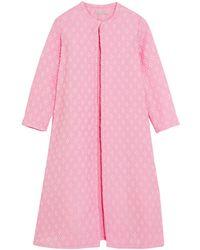 Emilia Wickstead Overcoat - Pink