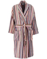 Paul Smith Towelling Dressing Gown - Orange