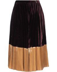 Roberta Scarpa 3/4 Length Skirt - Black