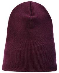 Erika Cavallini Semi Couture Chapeau - Violet