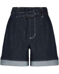 Chloé Denim Shorts - Blue