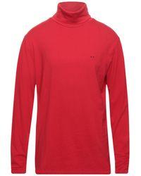 Sun 68 Camiseta - Rojo