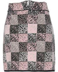VIKI-AND Midi Skirt - Pink