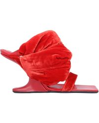 Rick Owens Sandals - Red