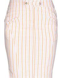 Armani Jeans Midi Skirt - Orange