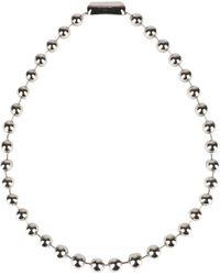 Balenciaga - Necklace - Lyst