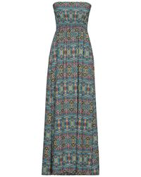 Mc2 Saint Barth Long Dress - Blue