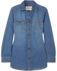 Madewell Camicia jeans - Blu