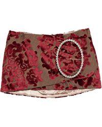 Dolce & Gabbana Minirock - Rot