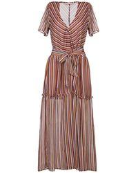 Sessun 3/4 Length Dress - Pink