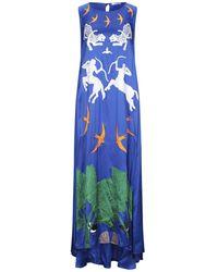 Vivetta Long Dress - Blue