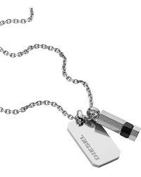 DIESEL Halskette - Mettallic
