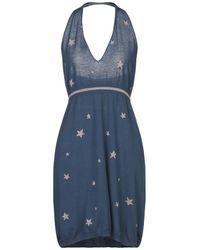 Sun 68 Short Dress - Blue