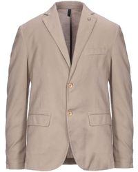 Harmont & Blaine Suit Jacket - Natural