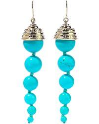 Aurelie Bidermann Earrings - Blue