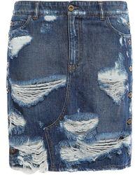 Faith Connexion Denim Skirt - Blue