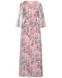 Vila Long Dress - Pink