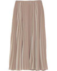 Dior 3/4 Length Skirt - Natural