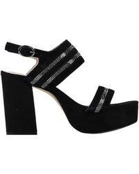 CafeNoir Sandals - Black