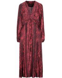 ANDAMANE Midi Dress - Red