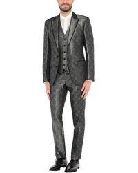 Dolce & Gabbana Anzug - Mettallic