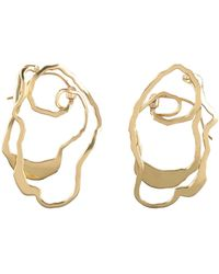 Ellery Earrings - Metallic