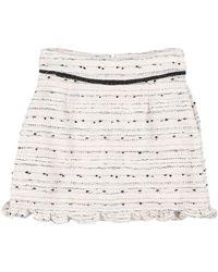 Sister Jane Mini Skirt - White