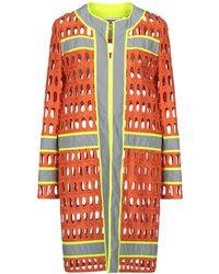 Moschino Overcoat - Orange