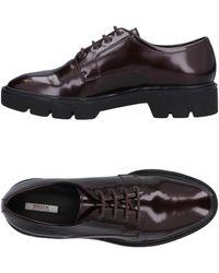 Geox Lace-up Shoe - Black