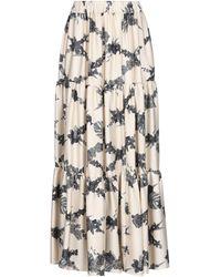 Ballantyne Long Skirt - Natural