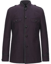 John Varvatos Overcoat - Purple