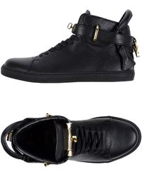 Buscemi High-tops & Trainers - Black