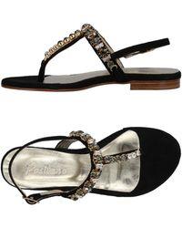 Positano By Jean Paul - Toe Strap Sandals - Lyst